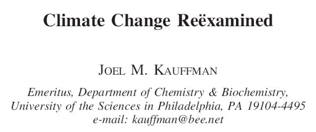 Download the paper by Dr. Joel M. Kauffman (PDF; 381 kbytes)